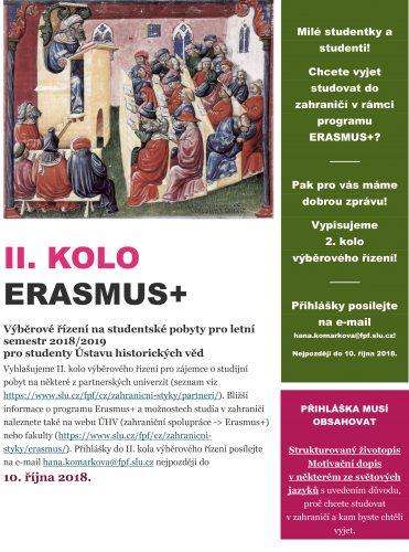 II. KOLO ERASMUS+