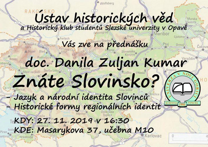 """Přednáška """"Znáte Slovinsko?"""""""